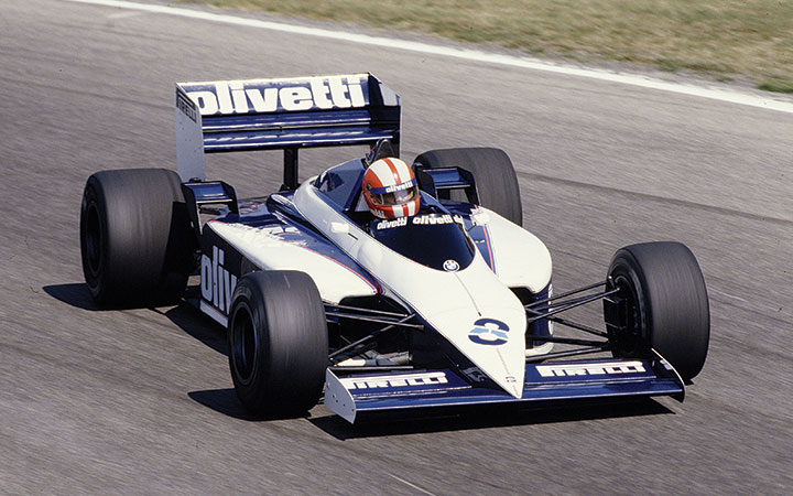 Great racing cars: Brabham, Tyrrell & Minardi