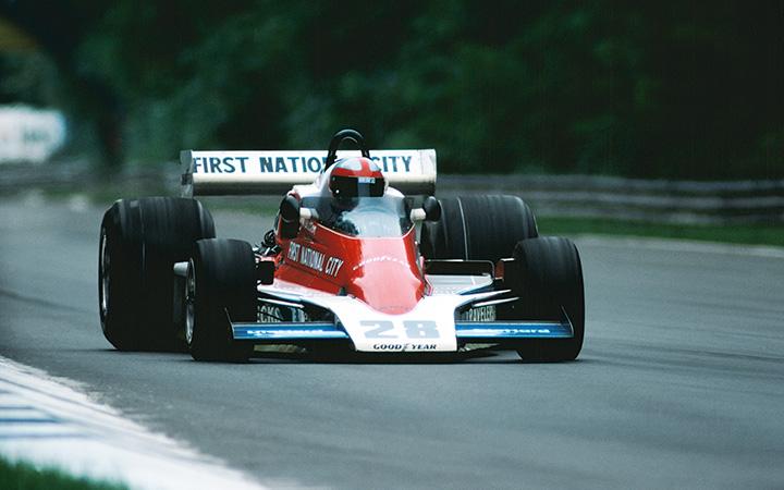 Penske's F1 cars