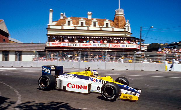 Keke and Nico's Australian GP wins