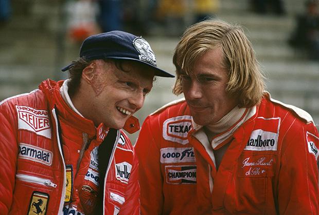 Hunt and Lauda at Fuji, 1976