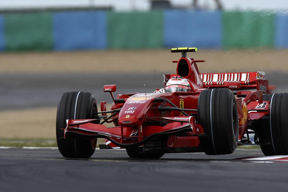 Räikkönen at Ferrari, 2007-09
