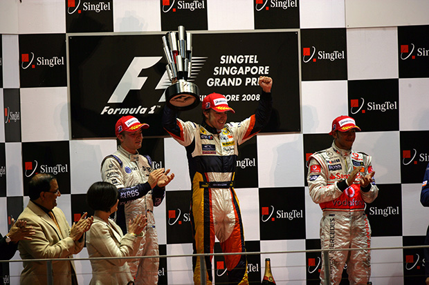 I was there when… 2008 Singapore GP