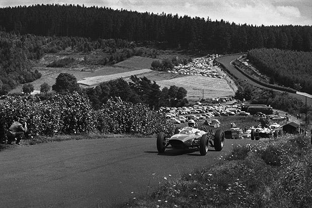 When Surtees won the 1963 German GP