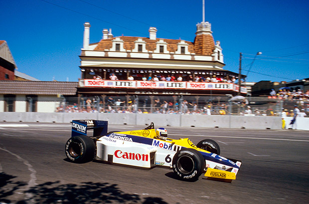 The hot Grands Prix