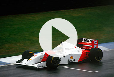Ayrton Senna's greatest drives