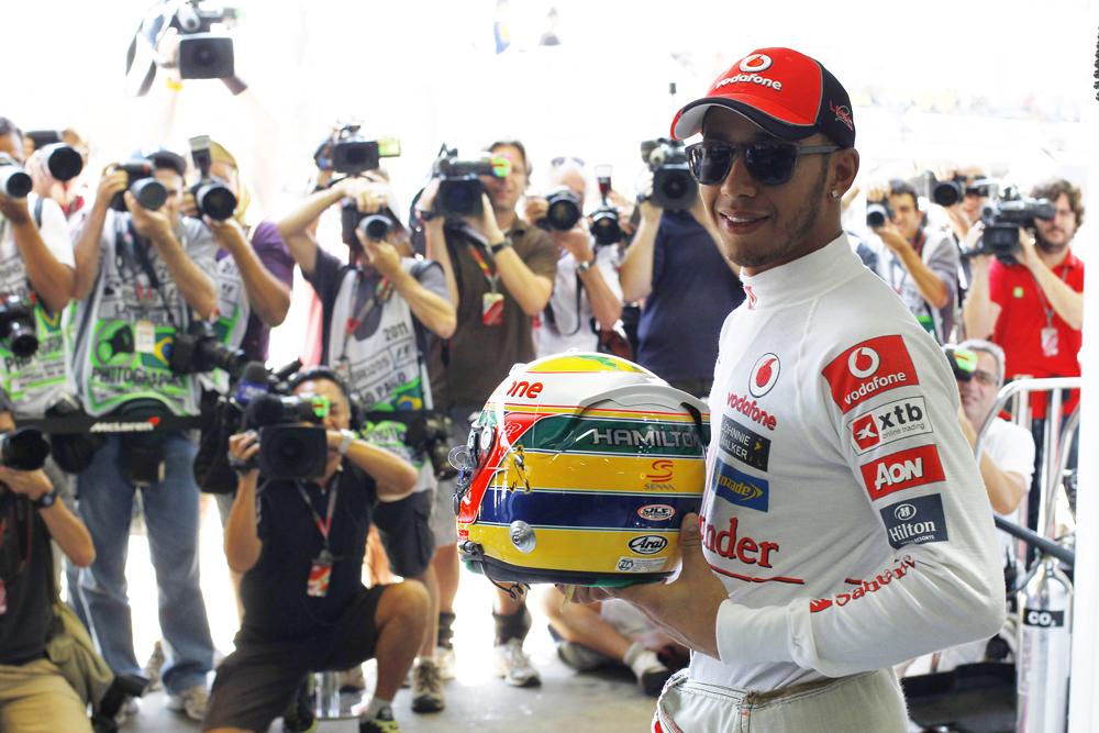 Hamilton nears Senna in the history books