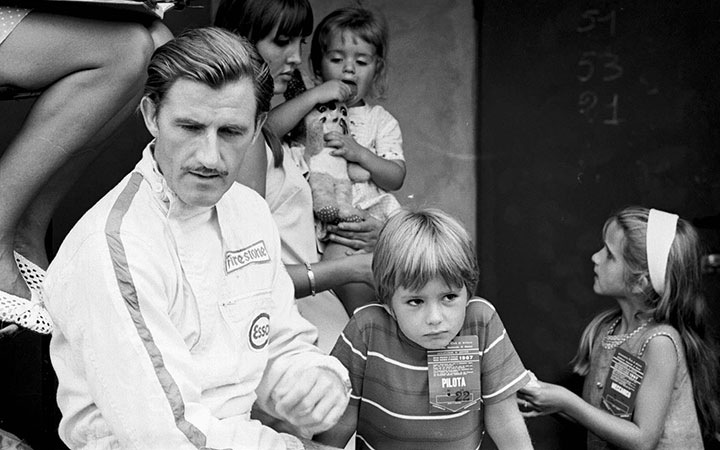 Graham Hill, 40 years on