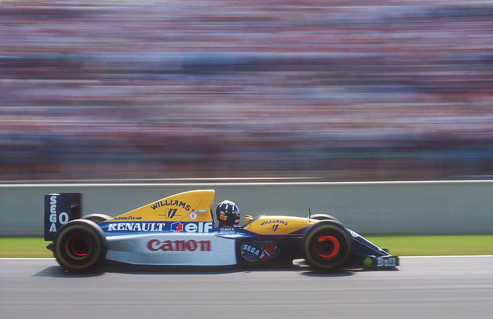 Adrian Newey's F1 cars