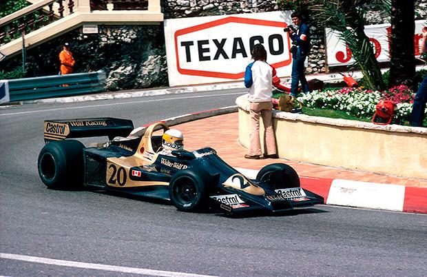 Formula 1 scene, December 1977