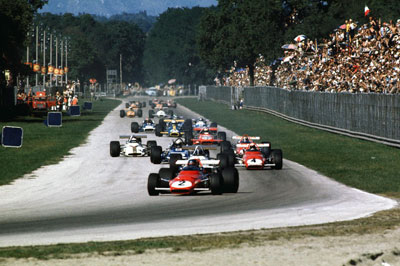 The magic of Monza