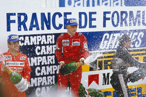 Will Schuey be another Lauda?