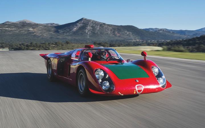 Classified spotlight: Alfa Romeo T33/2 Daytona Coupe