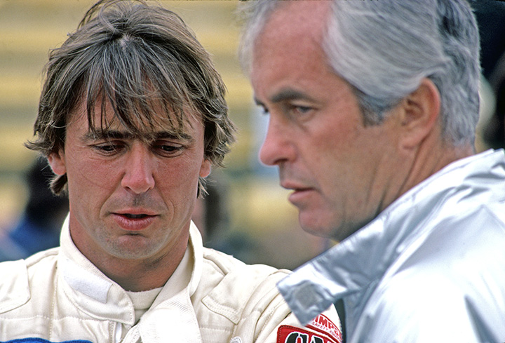 Rick Mears's 1980 F1 tests with Brabham