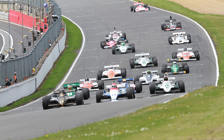 Thornton takes Historic F1 double