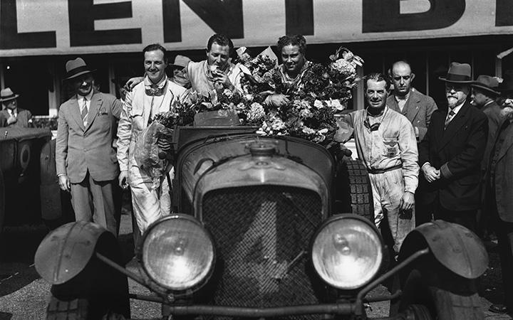 Racing drivers in WW1