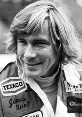 James Hunt: what a carry on!