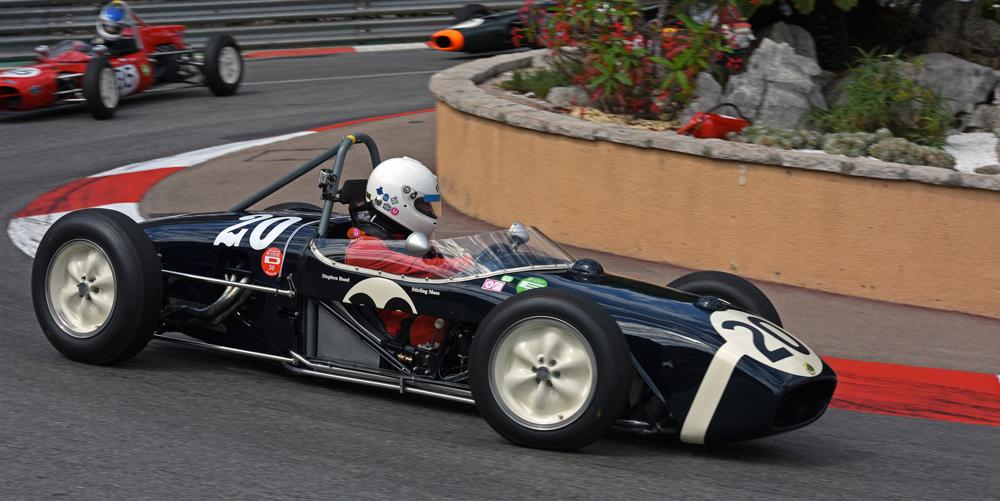 Racing the Moss Lotus 18 at Monaco