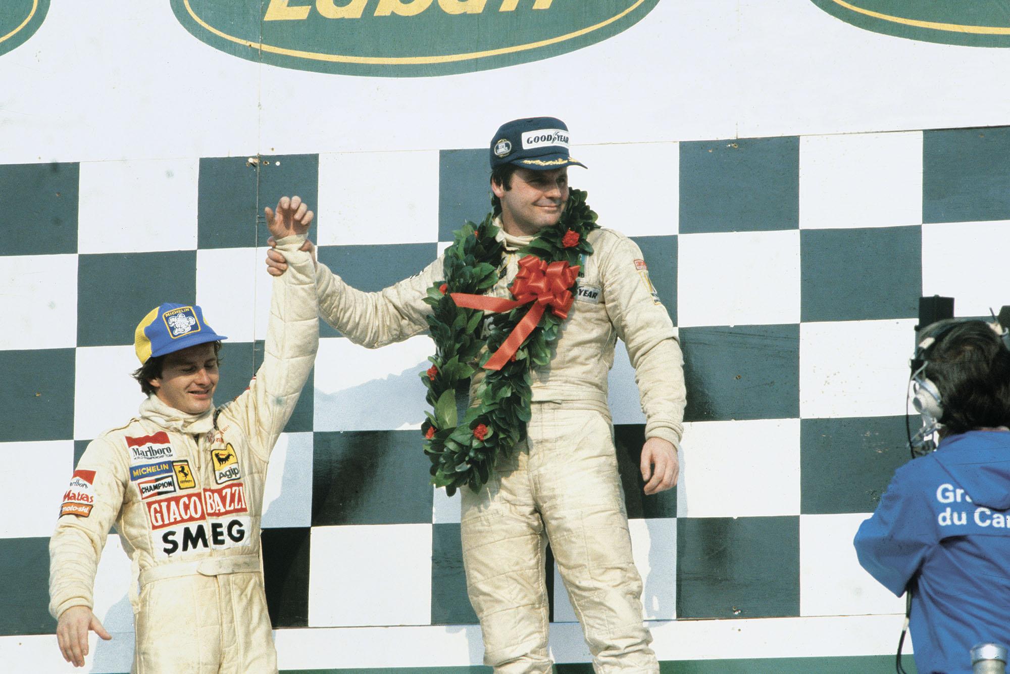 1979 Canadian GP podium