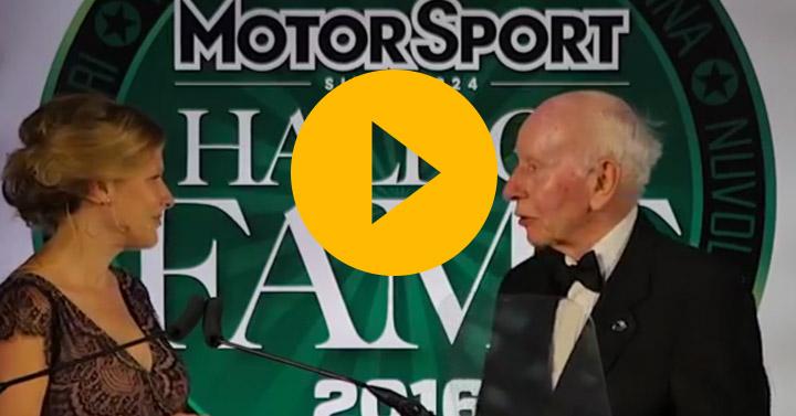 John Surtees honours Valentino Rossi