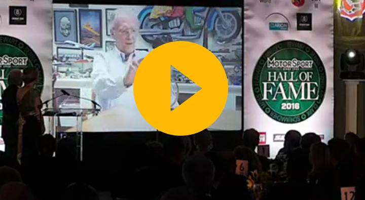 Sir Jackie Stewart honours Dan Gurney