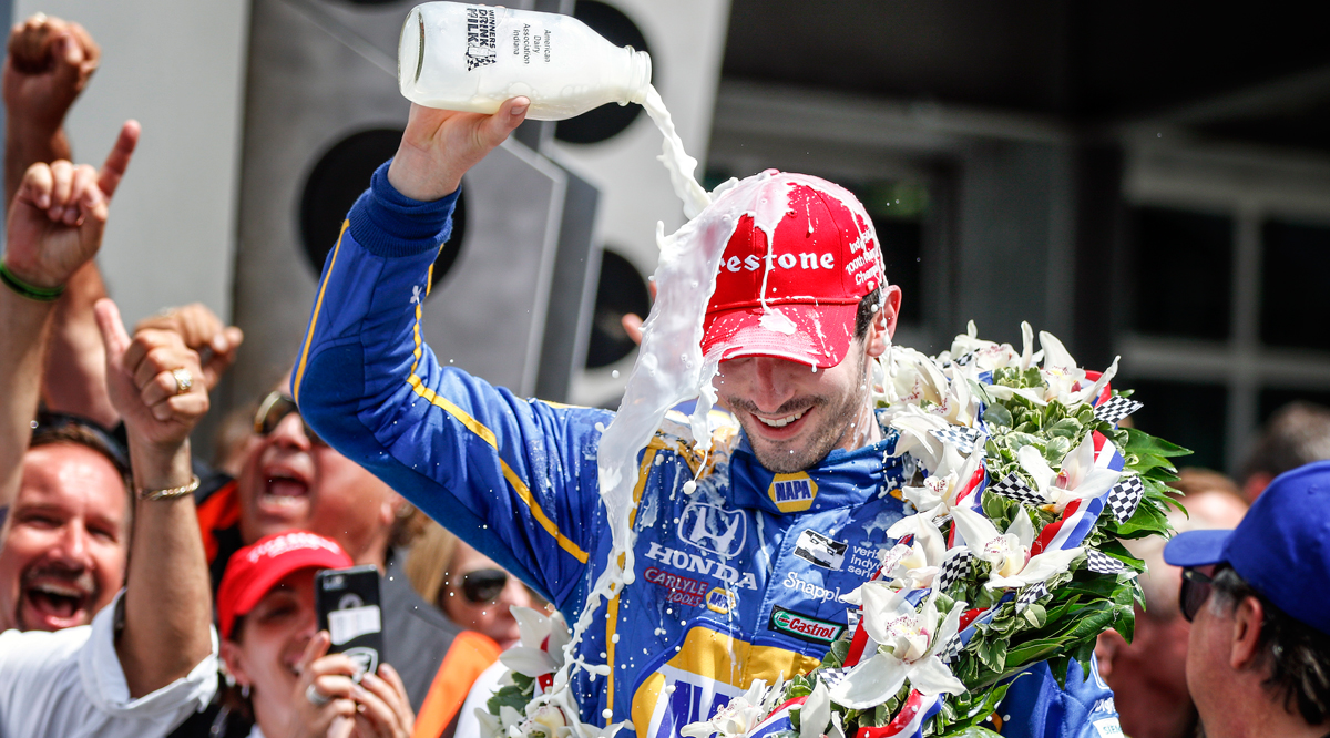 Rossi's Indy 500 win