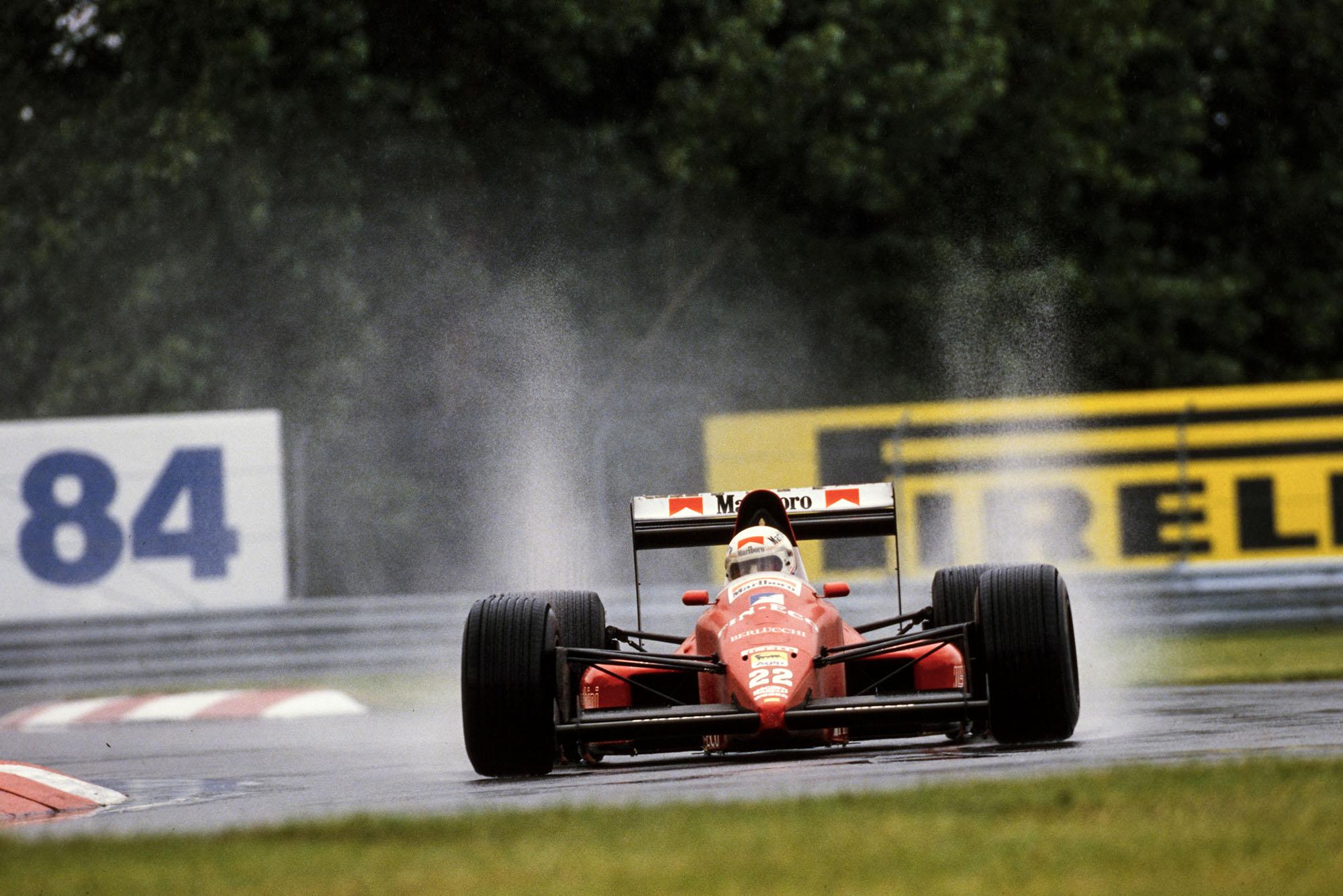 1989 CAN GP Alboreto3rd