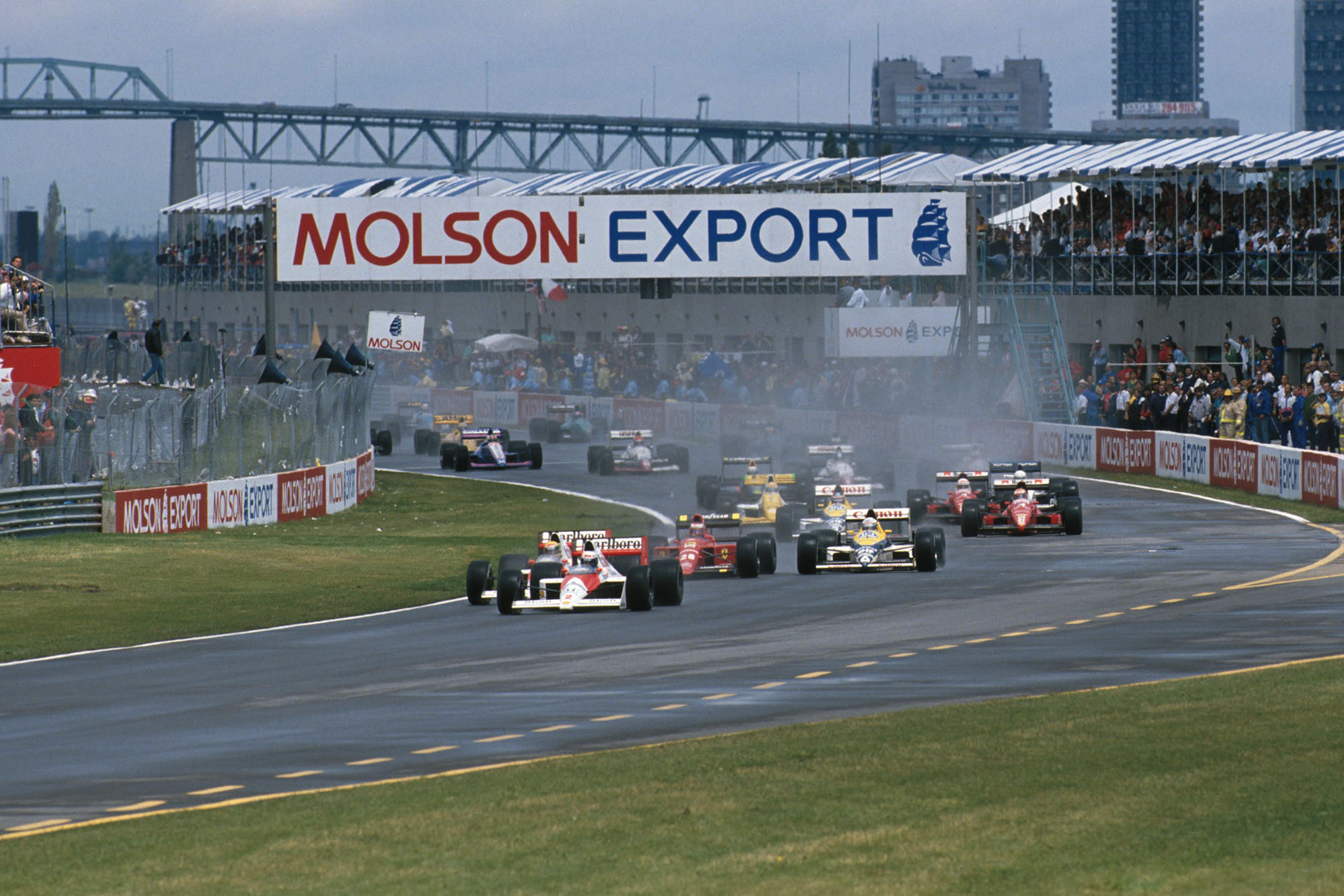 1989 CAN GP start