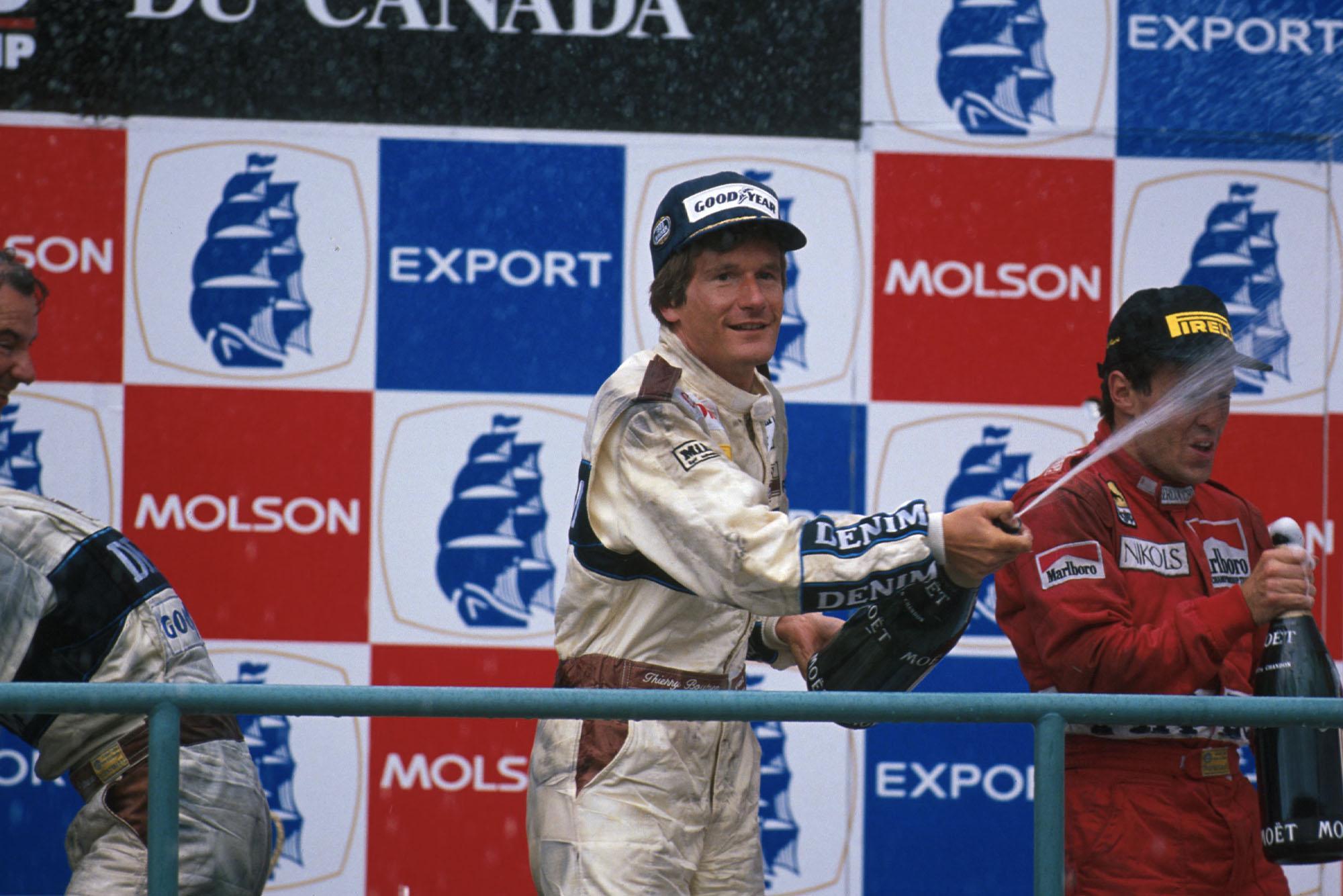 1989 CAN GP podium