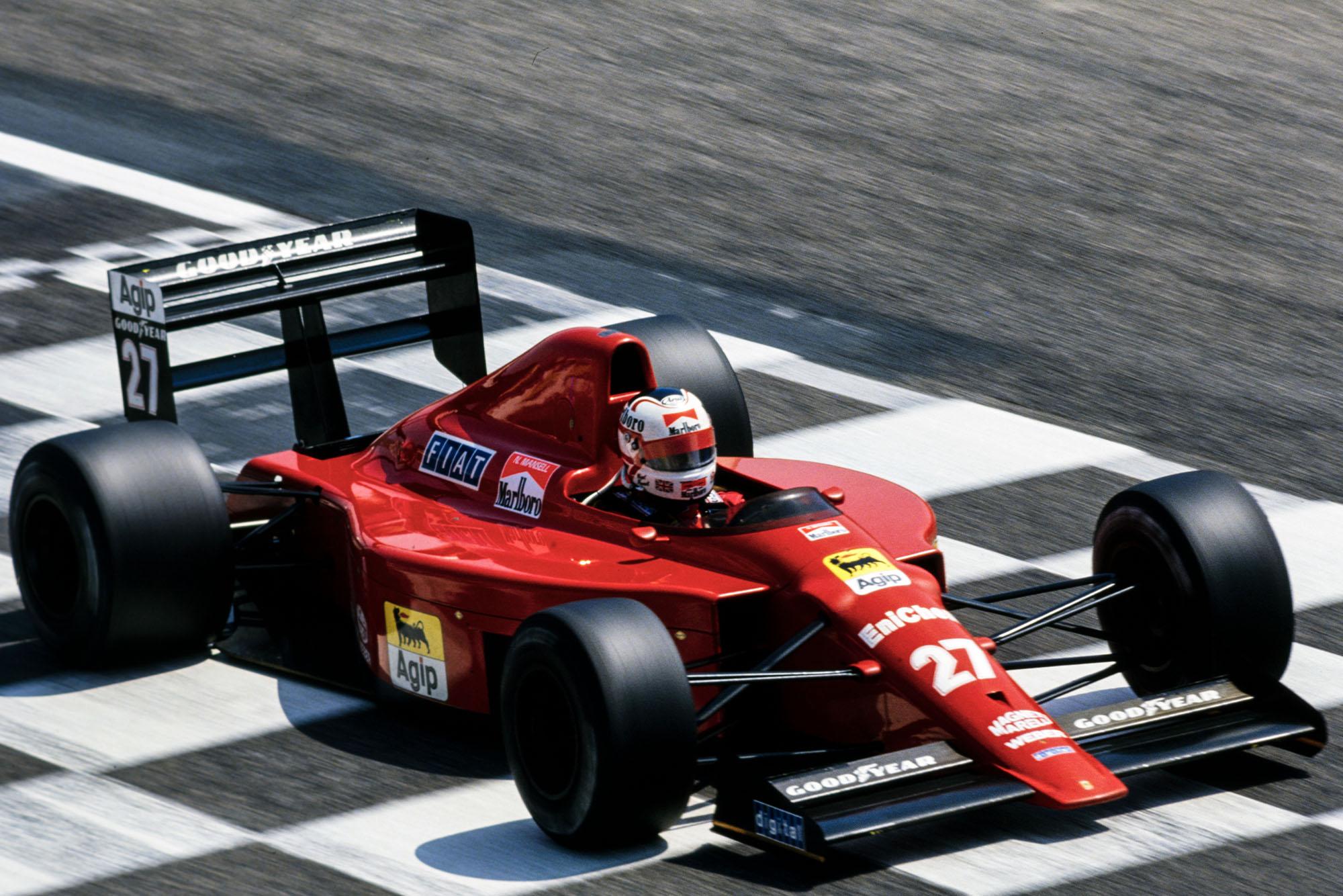 1989 French GP MansellQ3