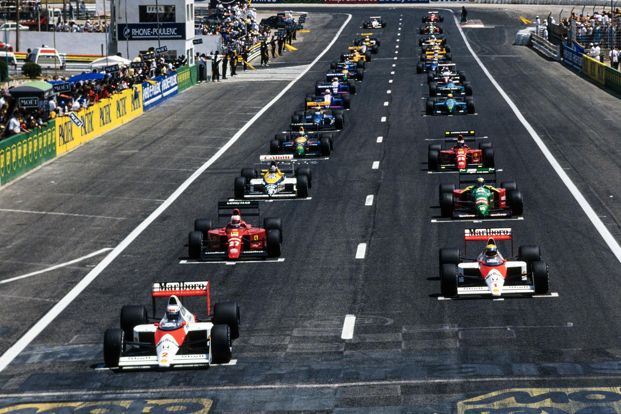 1989 French GP start