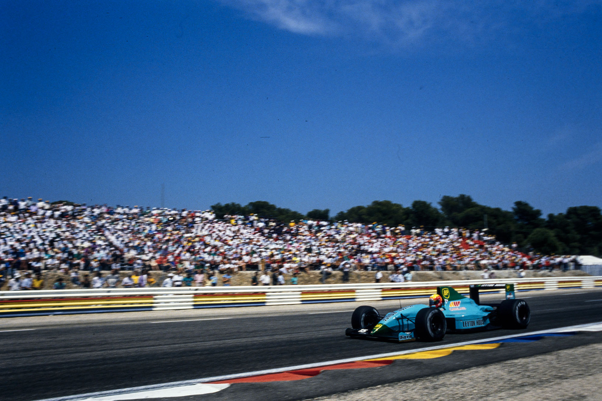 1989 French GP Gugelmin fastest lap