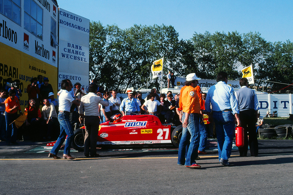 There was chaos and tempers rose at the entrance to the pitlane as officials checked cars for a mandatory 6cm gap after it was ruled that flexible skirts were illegal.