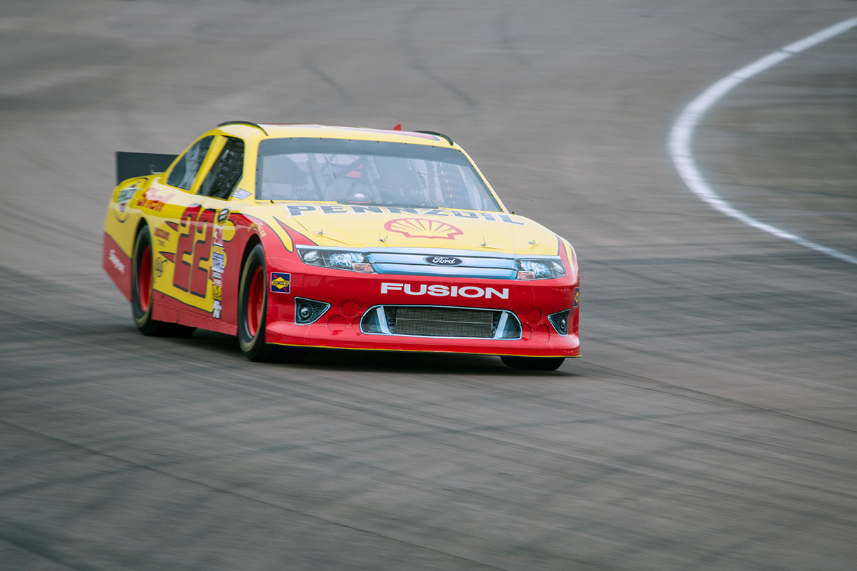 A taste of NASCAR
