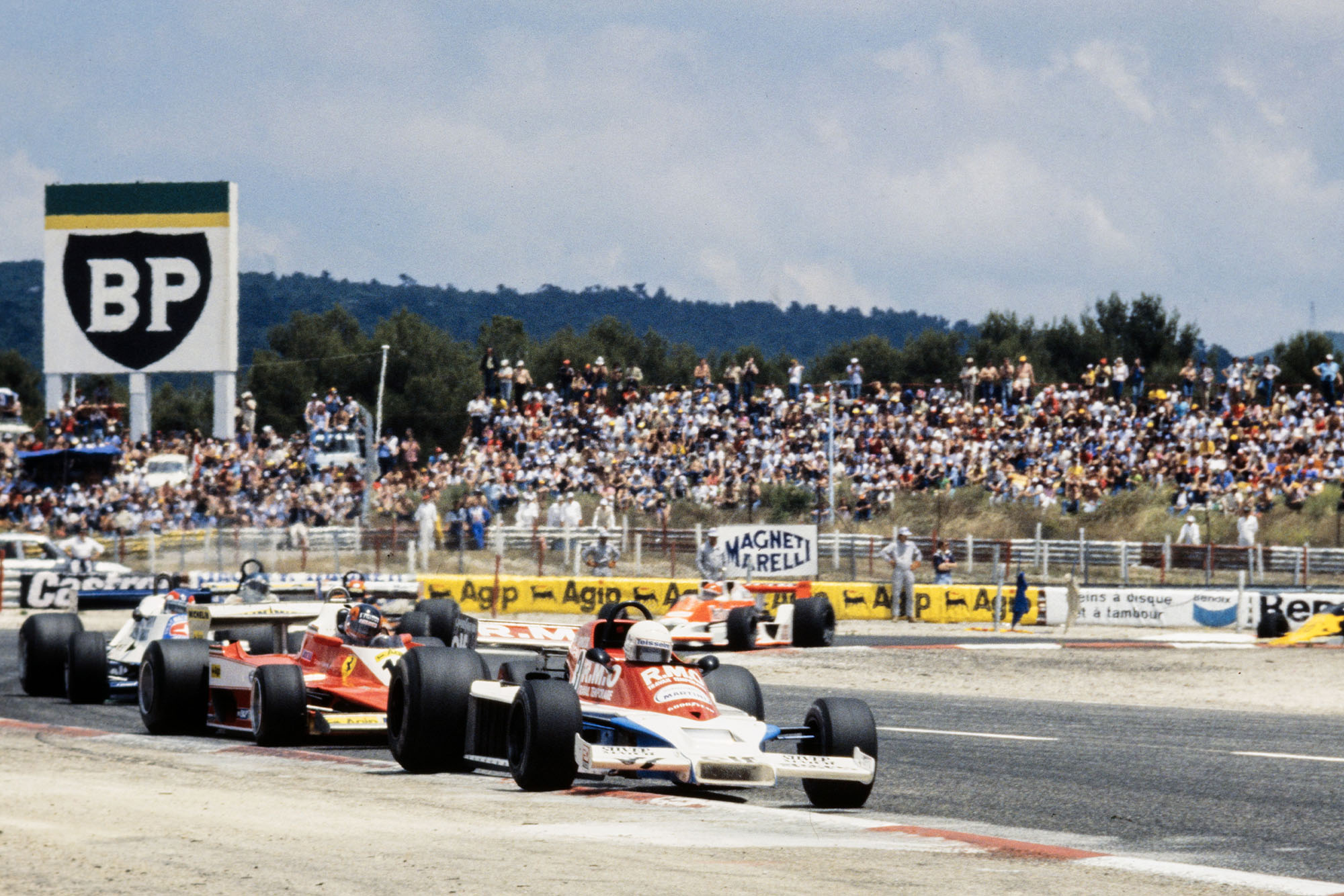 Rene Arnoux driving for McLaren at the 1978 French Grand Prix, Paul Ricard.