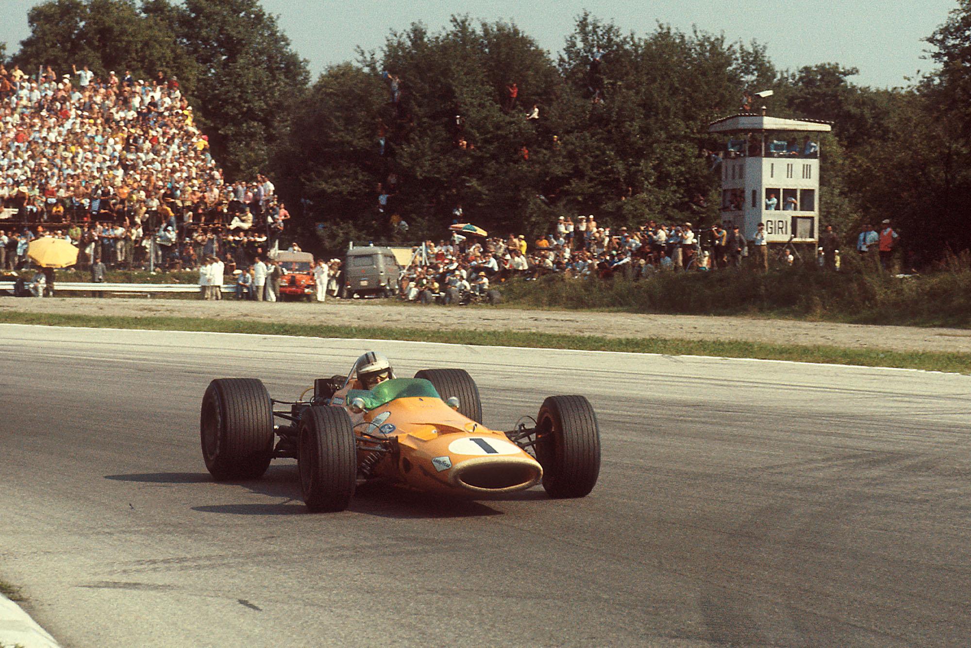 1968 Italian GP Hulme