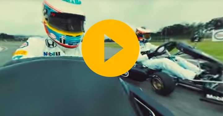 Watch: McLaren karting in 360°