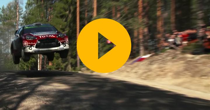 Watch: Kris Meeke's record-breaking Rally Finland