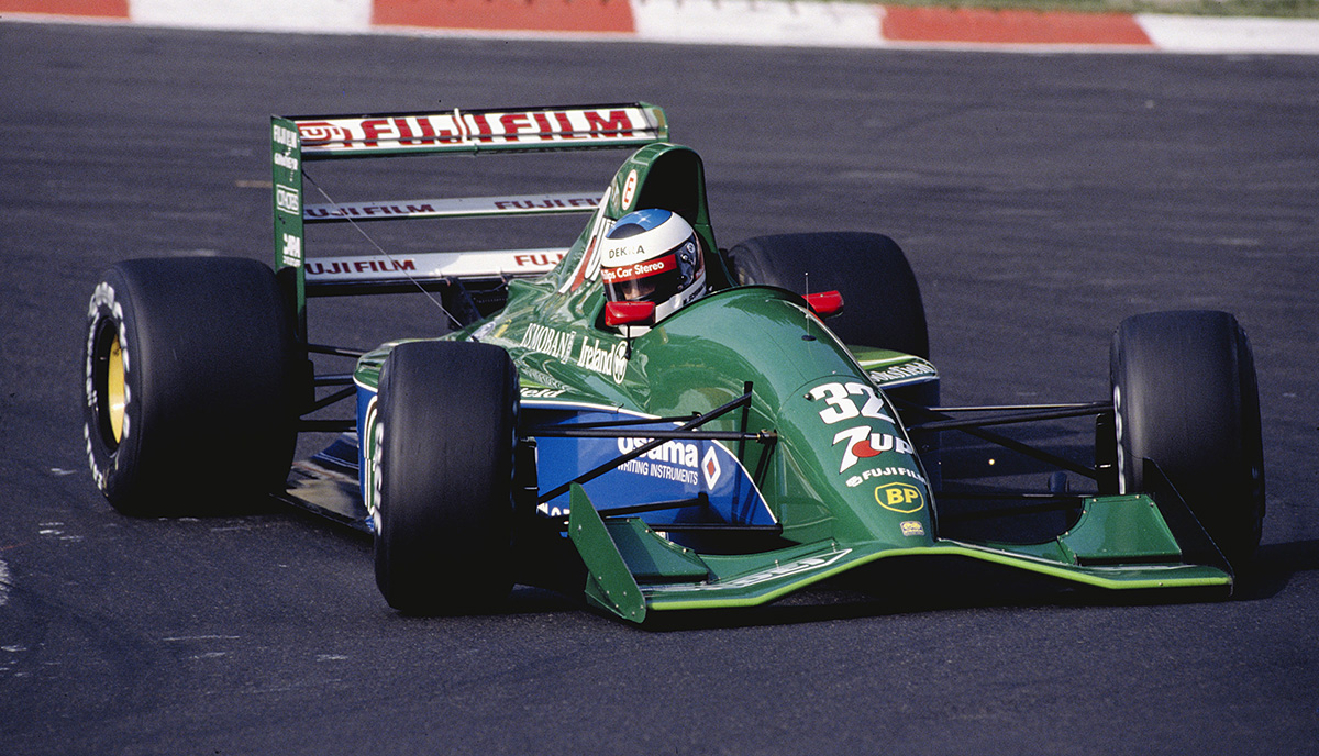 Michael Schumacher's F1 debut