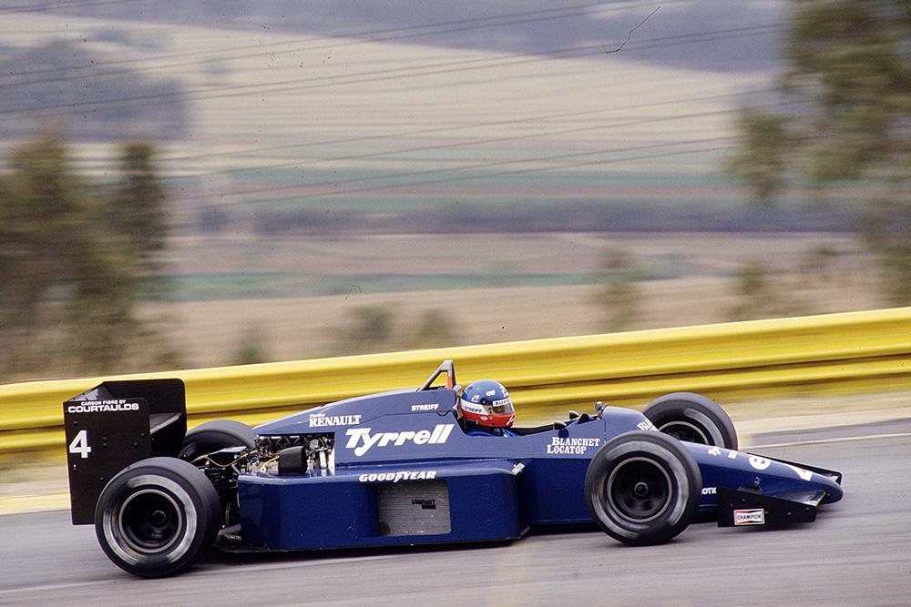Philippe Streiff Tyrrell 014 Renault.
