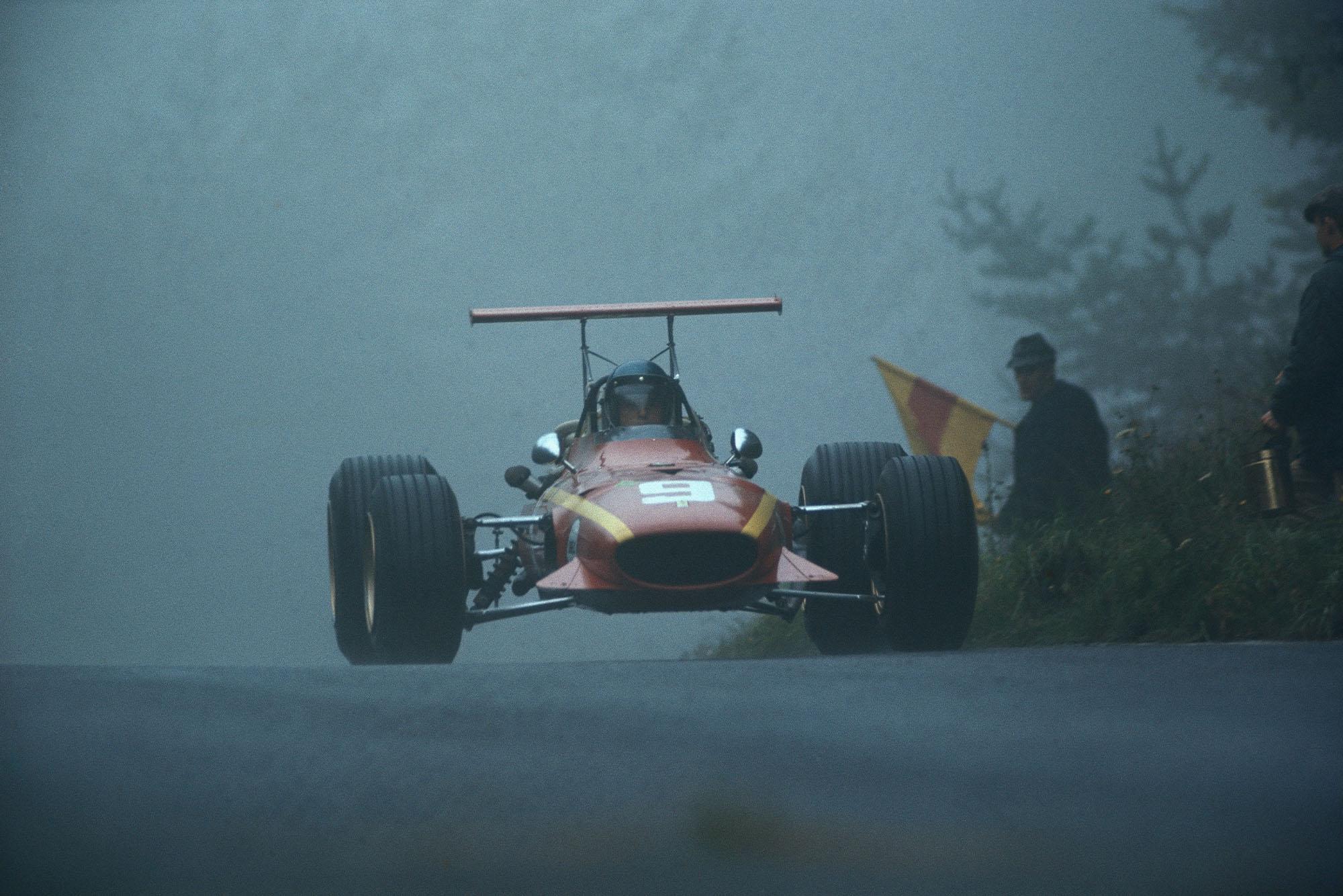 Jacky Ickx, Ferrari 312.
