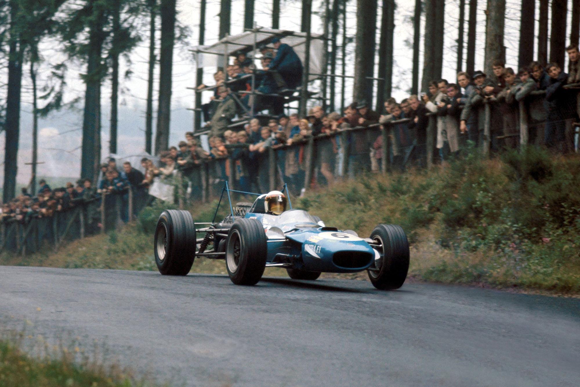 Winner Jackie Stewart, Matra MS10.