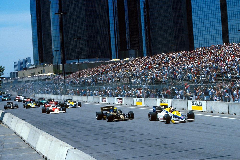 The Start of the US GP United States Grand Prix.