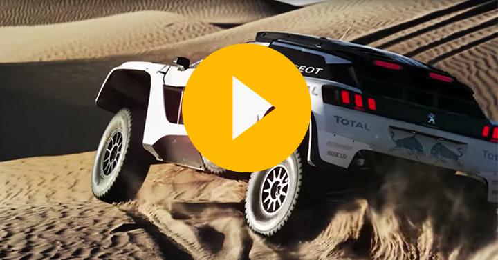Watch: Peugeot's 3008 DKR