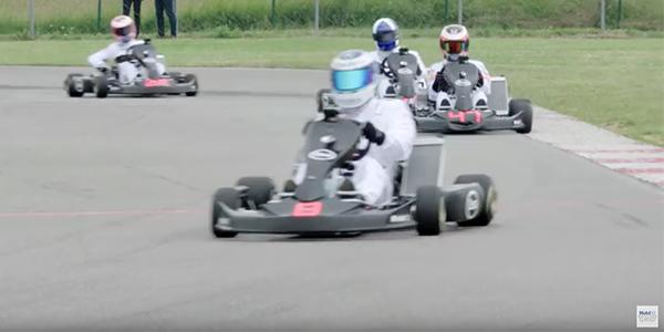 Win the McLaren kart with Esso
