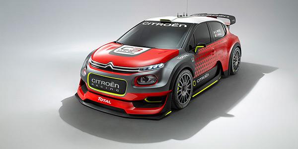 Gallery: Citroën C3 WRC 2017