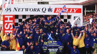 When Colin McRae won the 1995 World Rally title
