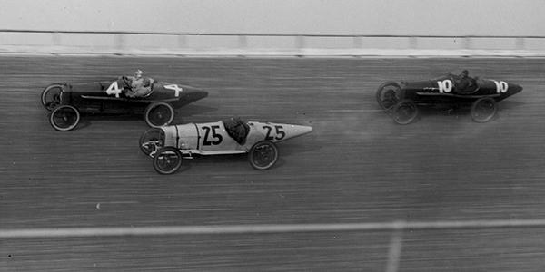 Indycar racing, a century ago