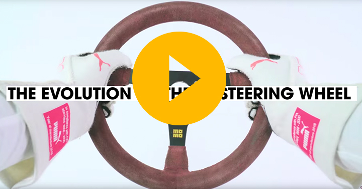 Watch: The evolution of the F1 steering wheel