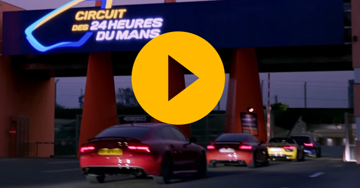 Watch: Audi departs
