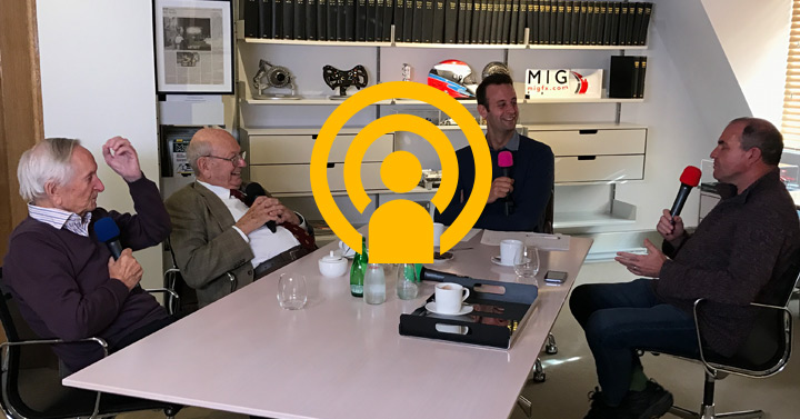 Mike Costin podcast in association with Mercedes-Benz